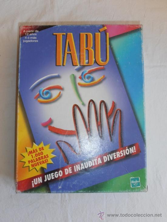 Juego de mesa tabu de mb comprar juegos de mesa antiguos for Juego de mesa tabu precio