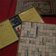 Juegos de mesa: JUEGO DE MESA-FBI-JUEGOS CRONE-AÑOS 60???. Lote 102146851