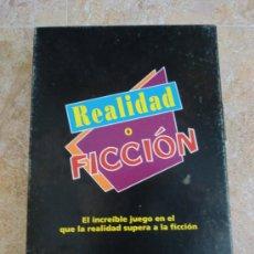 Juegos de mesa: JUEGO DE MESA REALIDAD O FICCIÓN (1995) DE MB JUEGOS & HASBRO. ¡COMPLETO!. Lote 32875044