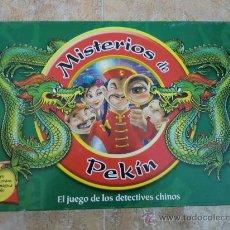 Juegos de mesa: JUEGO DE MESA MISTERIOS DE PEKÍN (2002) DE PARKER JUEGOS. ¡COMPLETO!. Lote 32875463