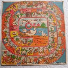 Juegos de mesa: LÁMINA JUEGO : JUEGO DE LA OCA . Lote 32914762