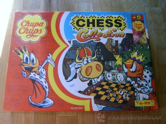 Juego De Ajedrez Chess Collection Chupa Chu Comprar Juegos De