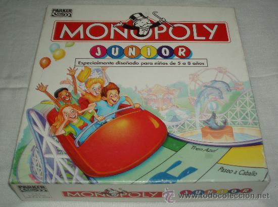 Monopoly Junior Para Ninos De 5 A 8 Anos Comprar Juegos De Mesa
