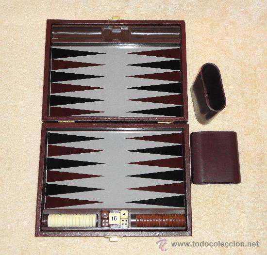 Juego De Backgammon Deluxe Travel Magnetic Com Comprar Juegos De