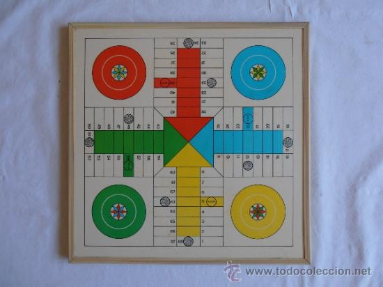 PARCHIS AJEDREZ TABLERO CLASICO AÑOS 80 (Juguetes - Juegos - Juegos de Mesa)