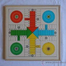 Juegos de mesa: PARCHIS AJEDREZ TABLERO CLASICO AÑOS 80. Lote 33106117