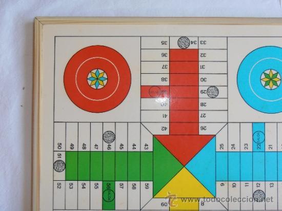 Juegos de mesa: PARCHIS AJEDREZ TABLERO CLASICO AÑOS 80 - Foto 3 - 33106117