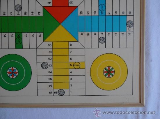 Juegos de mesa: PARCHIS AJEDREZ TABLERO CLASICO AÑOS 80 - Foto 4 - 33106117