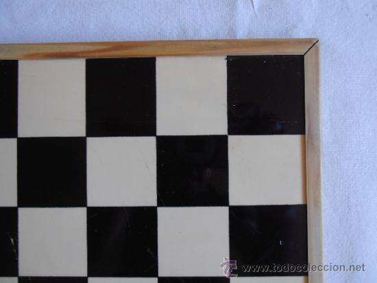 Juegos de mesa: PARCHIS AJEDREZ TABLERO CLASICO AÑOS 80 - Foto 5 - 33106117