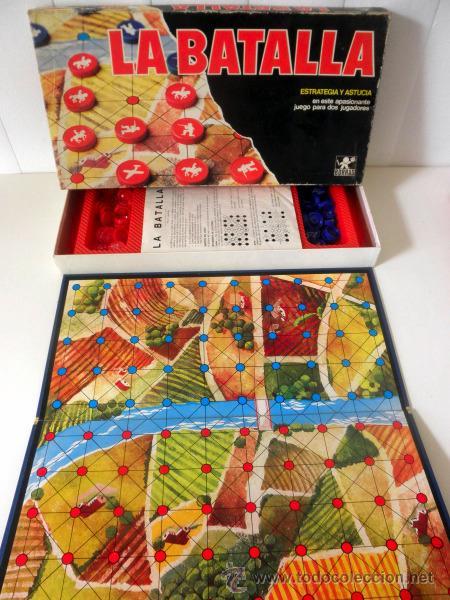 Juegos de mesa: LA BATALLA * JUEGO DE MESA DE ESTRATEGIA Y ASTUCIA PARA DOS JUGADORES * BORRAS - Foto 2 - 33085134