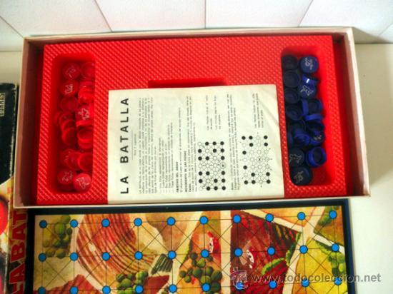 Juegos de mesa: LA BATALLA * JUEGO DE MESA DE ESTRATEGIA Y ASTUCIA PARA DOS JUGADORES * BORRAS - Foto 3 - 33085134