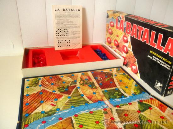 Juegos de mesa: LA BATALLA * JUEGO DE MESA DE ESTRATEGIA Y ASTUCIA PARA DOS JUGADORES * BORRAS - Foto 4 - 33085134