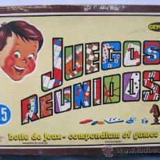 Juegos de mesa: JUEGOS REUNIDOS GEYPER 25. Lote 33223279