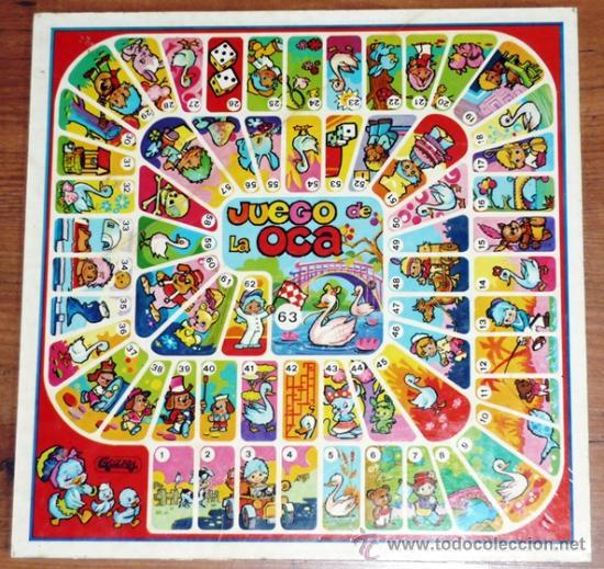 Gozan juguetes tablero de parchis y oca marca comprar juegos de mesa antiguos en - La oca juego de mesa ...