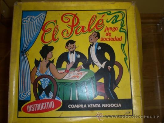 JUEGO EL PALE (ANTIGUO MONOPOLY) (Juguetes - Juegos - Juegos de Mesa)