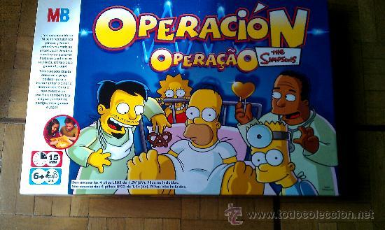 juego de mesa operacion de los simpsons marca  Comprar Juegos