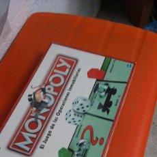 Juegos de mesa: JUEGO MONOPOLY COMPLETAMENTE NUEVO. Lote 33668529