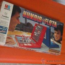 Juegos de mesa: JUEGO AÑOS 80 HUNDIR LA FLOTA. MB JUEGOS COMPLETO. Lote 33668592