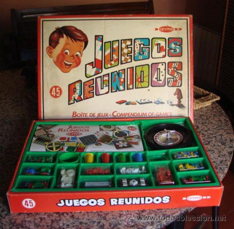 Juego Reunidos Geyper De 45 Juegos Comprar Juegos De Mesa