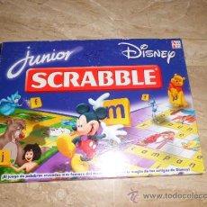 Juegos de mesa: DISNEY SCRABBLE JUNIOR COMPLETO VER FOTOS. Lote 33777964