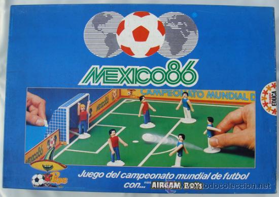 Airgam Boys Airgamboys Futbolistas Mexico 86 Ca Comprar Juegos De