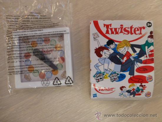 Mini Twister Bolsillo Hasbro Burguer King Comprar Juegos De