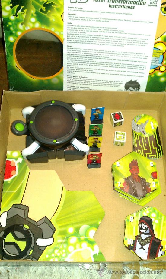 juego de mesa ben 10 juego total transformacio  Comprar Juegos