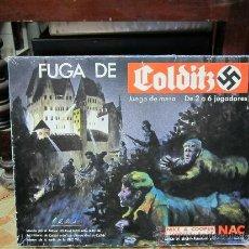 Juegos de mesa: JUEGO DE MESA,FUGA DE COLDITS MARCA NAC. Lote 34075577