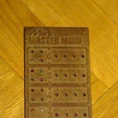 Juegos de mesa: H&H PROMOTIONS JUEGO MINI MASTER - MIND. AÑOS 70. , . BORRAS EDUCA. Lote 34101731
