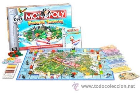 Juego De Mesa Monopoly Fortuna Tropical Esp Comprar Juegos De
