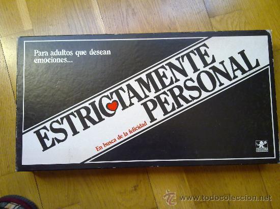 Juego De Mesa Estrictamente Personal Completo D Comprar Juegos De