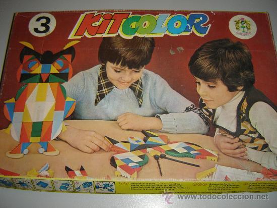 Juego Kit Color De Marc Pique Reg Anos 70 Comprar Juegos De