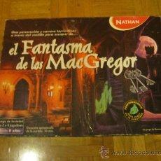 Juegos de mesa: EL FANTASMA DE LOS MAC GREGOR , COMPLETO. Lote 34318302