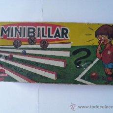 Juegos de mesa: CAJA DE MINI BILLAR. 502 MINIBILLAR 1 X 2. LUIS CONGOST, S.A., BARCELONA.. Lote 34349445