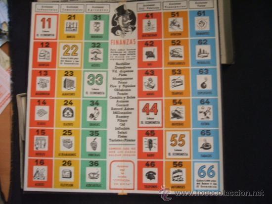 Juegos de mesa: JUEGO DE MESA - FINANZAS - PATENTADO Y GARANTIZADO POR FRANCISCO ROSSELLO - BARCELONA - - Foto 5 - 34356537