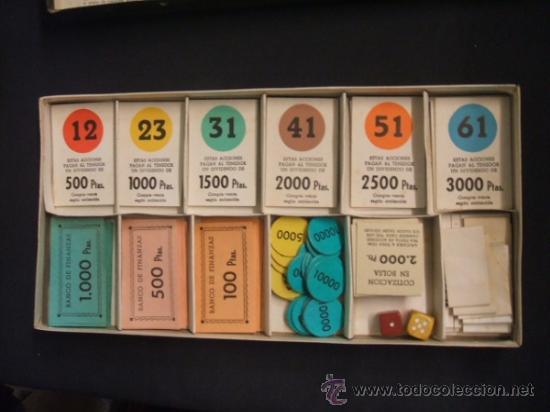 Juegos de mesa: JUEGO DE MESA - FINANZAS - PATENTADO Y GARANTIZADO POR FRANCISCO ROSSELLO - BARCELONA - - Foto 6 - 34356537