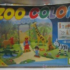 Juegos de mesa: ZOO COLOR, DE CHICOS, MAS DE 850 FICHAS, EN CAJA. CC. Lote 34417753