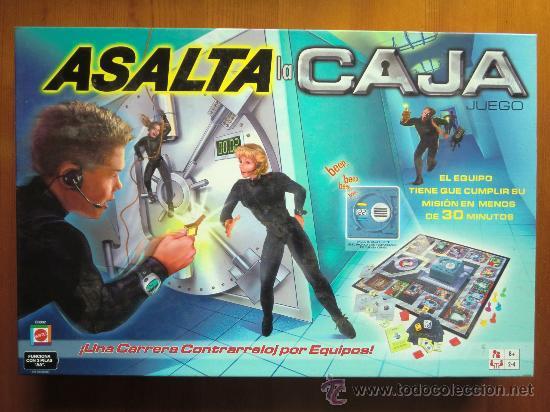 Juego De Mesa Asalta La Caja 2 003 De Mattel Comprar Juegos De