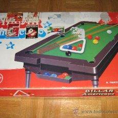 Juegos de mesa: BILLAR AMERICANO - RIMA AÑOS 80. Lote 34500940