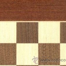 Juegos de mesa: TABLERO POPULAR DE AJEDREZ DE MADERA TPB-3 ACABADO MATE 50X500X15 MM.. Lote 34566597
