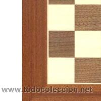 Juegos de mesa: Tablero popular de ajedrez de madera TPB-1 acabado mate 40x400x15 mm. - Foto 2 - 34583225