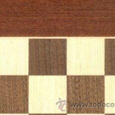 Juegos de mesa: TABLERO POPULAR DE AJEDREZ DE MADERA TPB-0 ACABADO MATE 35X350X12 MM.. Lote 34583272