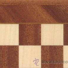 Juegos de mesa: TABLERO DIAGONAL SAPELLI DE AJEDREZ DE MADERA TDS-1 ACABADO MATE 40X400X15 MM.. Lote 170388133