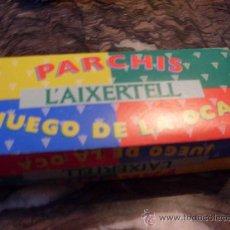 Juegos de mesa: CAJA FICHAS, CUBILETES Y DADOS LA'IXERTELL (J11). Lote 34591360
