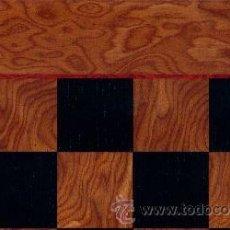 Juegos de mesa: TABLERO MIEL NEGRO DE AJEDREZ DE MADERA TMN-1 ACABADO SATINADO 40X400X15 MM.. Lote 34637846