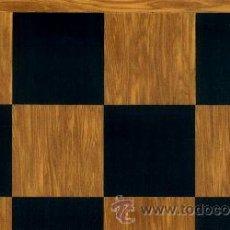 Juegos de mesa: TABLERO OLIVO NEGRO DE AJEDREZ DE MADERA TOL-48E ACABADO SATINADO 48X400X12 MM.. Lote 34690911