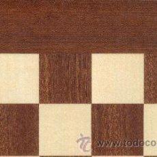Juegos de mesa: TABLERO SAPELLI ERABLE DE AJEDREZ DE MADERA TS-40E ACABADO MATE 40X400X15 MM.. Lote 34709271