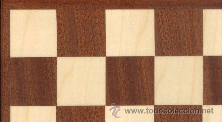 TABLERO SAPELLI ERABLE DE AJEDREZ DE MADERA TS-48E ACABADO MATE 48X400X12 MM. (Juguetes - Juegos - Juegos de Mesa)