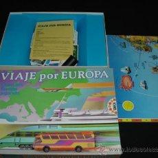Juegos de mesa: JUEGO VIAJE POR EUROPA - DE EDUCA - COMPLETO. Lote 34760449