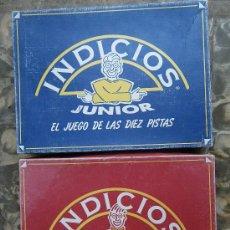Juegos de mesa: INDICIOS JUNIOR, DE CEFA (PIEZAS DE PLÁSTICO) VER FOTOS (NO EL DE ADULTOS). Lote 34675258